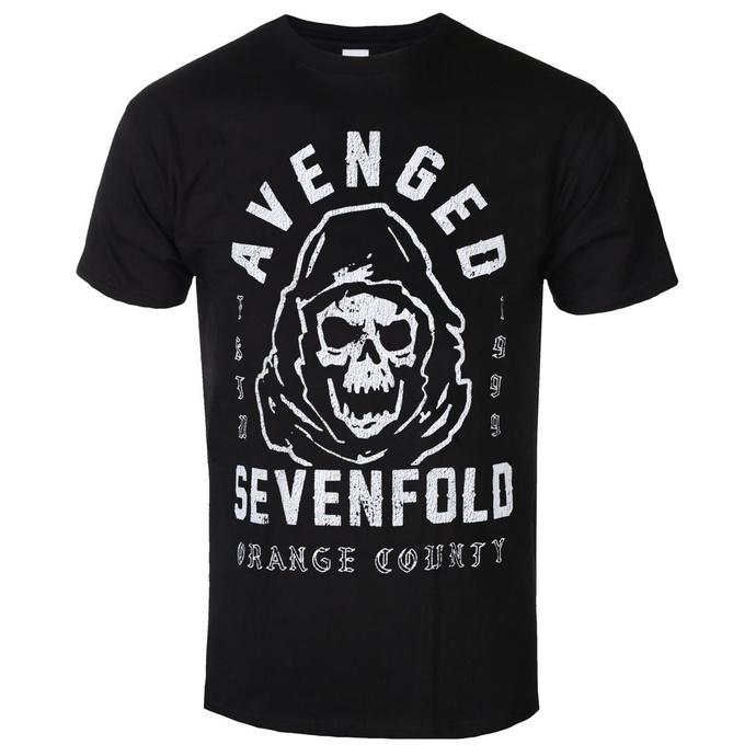 tričko pánské Avenged Sevenfold - So Grim Orange - ROCK OFF