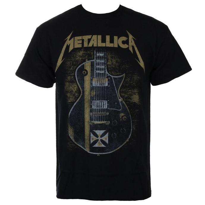 tričko pánské Metallica - Hetfield Iron Cross - Black