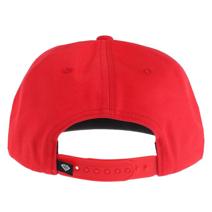 kšiltovka SLAYER - DIAMOND - Unstructured - Red