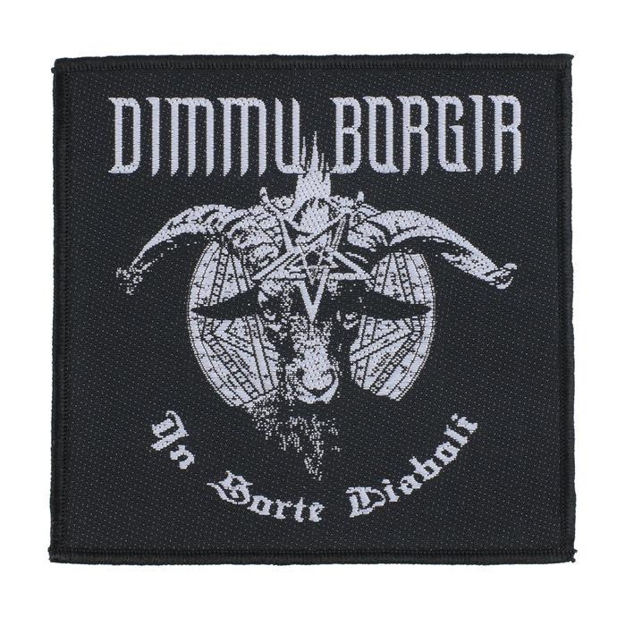 nášivka Dimmu Borgir - In Sorte Dlaboll - RAZAMATAZ