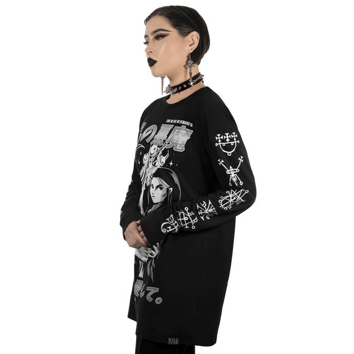 tričko unisex s dlouhým rukávem  KILLSTAR - Demon Lover Long Sleeve Top