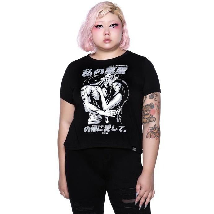 tričko dámské KILLSTAR - Demon Lover Ringer Top