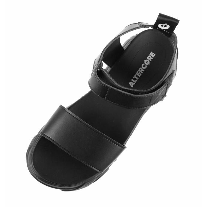 boty dámské (sandály) ALTERCORE - Draconia Vegan - Black