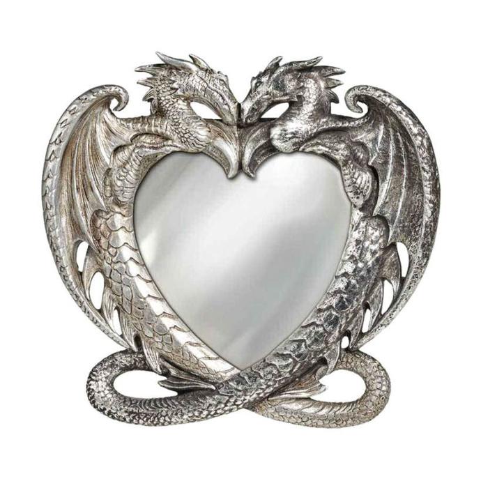 zrcátko (dekorace) ALCHEMY GOTHIC - Dragon Heart
