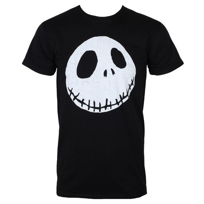 tričko pánské THE NIGHTMARE BEFORE CHRISTMAS - CRACKED FACE - PLASTIC HEAD