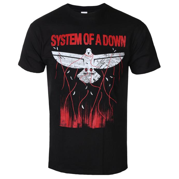 tričko pánské System Of A Down - Dove Overcome - ROCK OFF