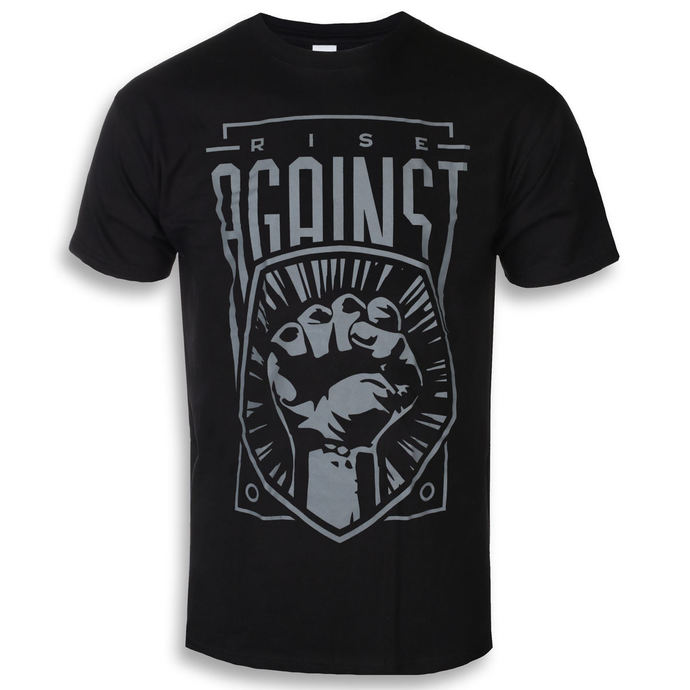 tričko pánské Rise Against - Fist - Black - KINGS ROAD