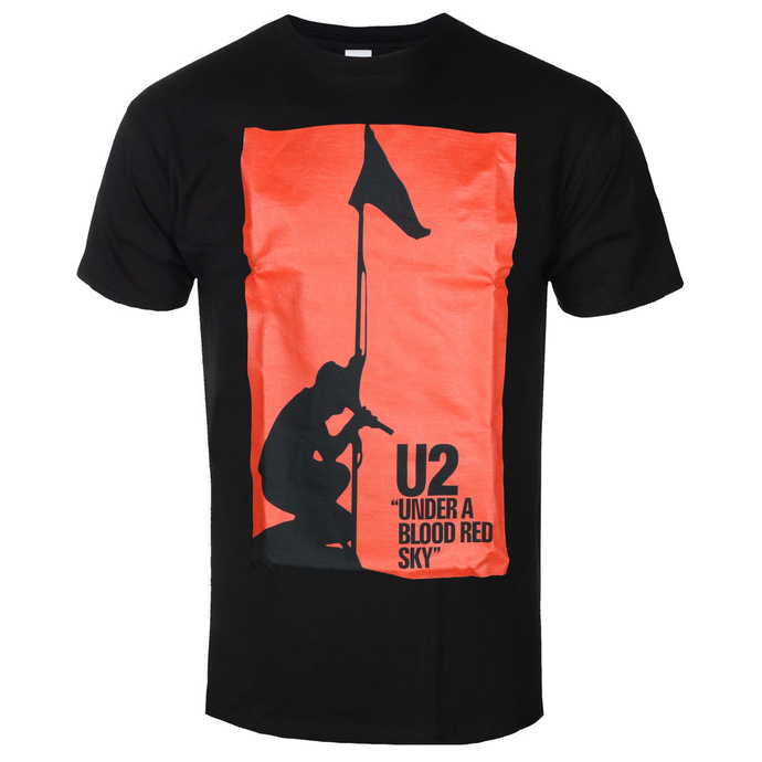 tričko pánské U2 - UNDER ABLOOD RED SKY - BLACK - GOT TO HAVE IT