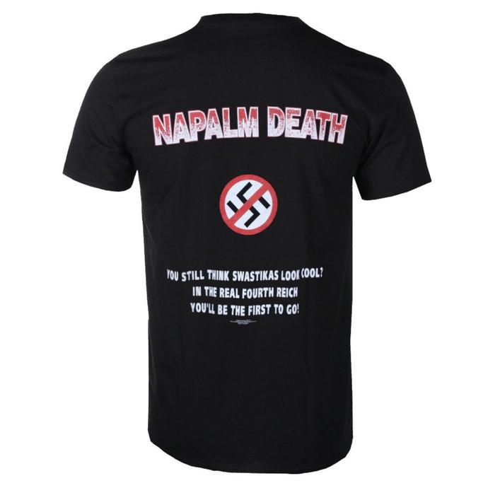 tričko pánské Napalm Death - Nazi Punks - RAZAMATAZ