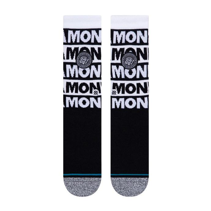 ponožky RAMONES - BLACK - STANCE