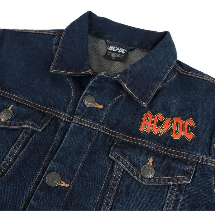 bunda pánská AC/DC - About To Rock - DENIM - ROCK OFF