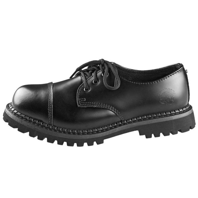 boty GRINDERS - 3 dírkové - Regent 2 - Black