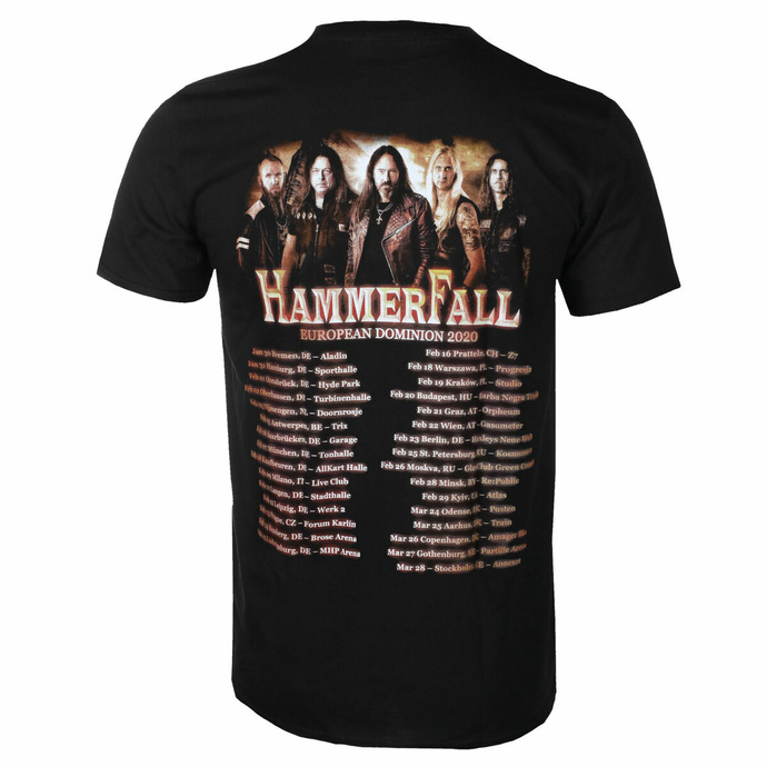 tričko pánské Hammerfall - Dominion World - ART WORX