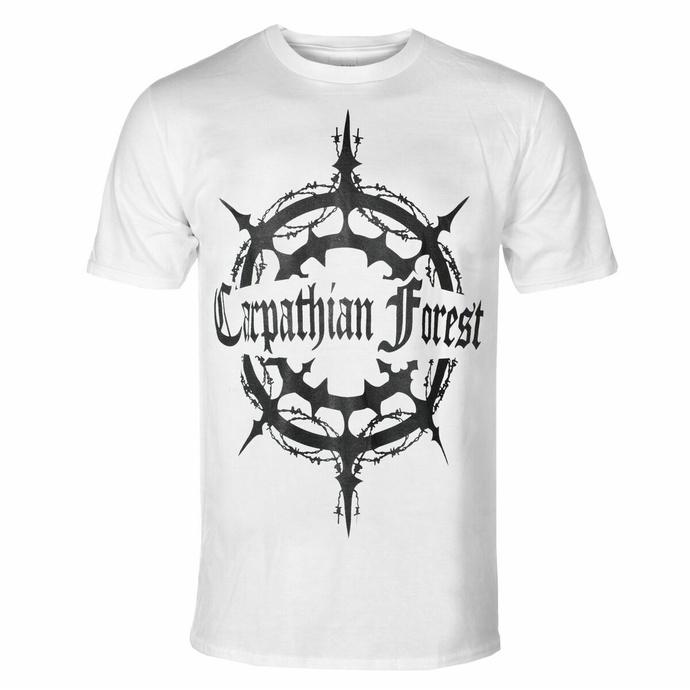 tričko pánské Carpathian Forest - Evil Egocentrical Existencialism - White - SEASON OF MIST