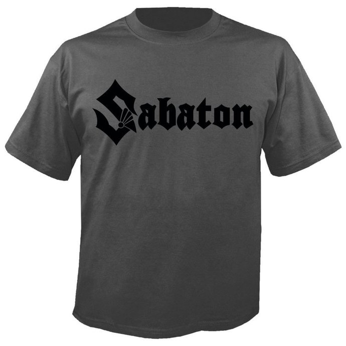 tričko pánské SABATON - Logo GREY - NUCLEAR BLAST