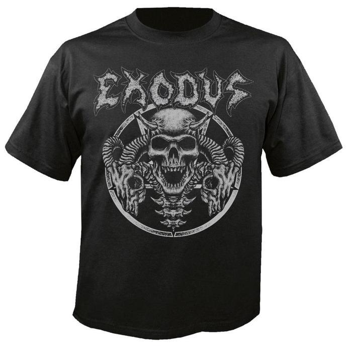 tričko pánské Exodus - Horns Skull - NUCLEAR BLAST