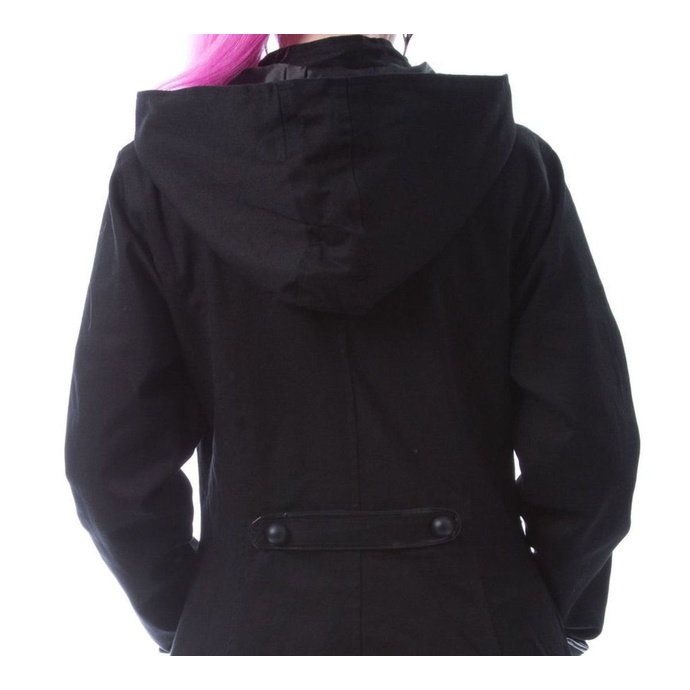 kabát dámský CHEMICAL BLACK - BLUEBELL - BLACK