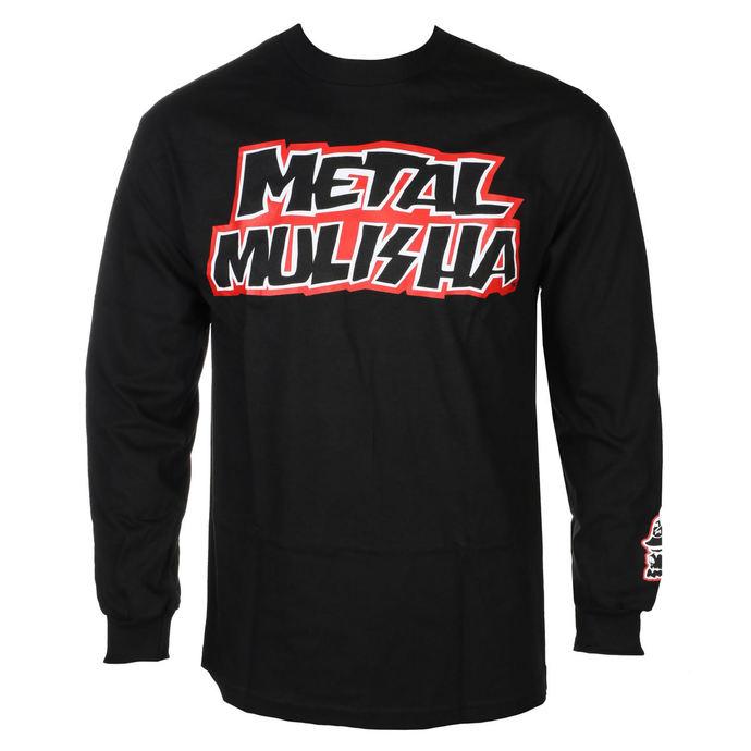 tričko pánské s dlouhým rukávem METAL MULISHA - STICK  BLK, METAL MULISHA
