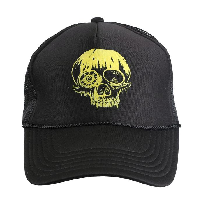 kšiltovka TOXIC HOLOCAUST - Skull - Black - INDIEMERCH