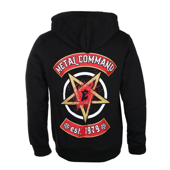mikina pánská Exodus - Metal Command - Black - KINGS ROAD