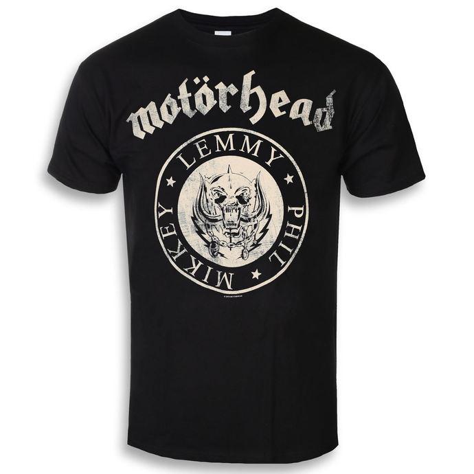 tričko pánské Motörhead - Undercover Seal Newsprint - ROCK OFF