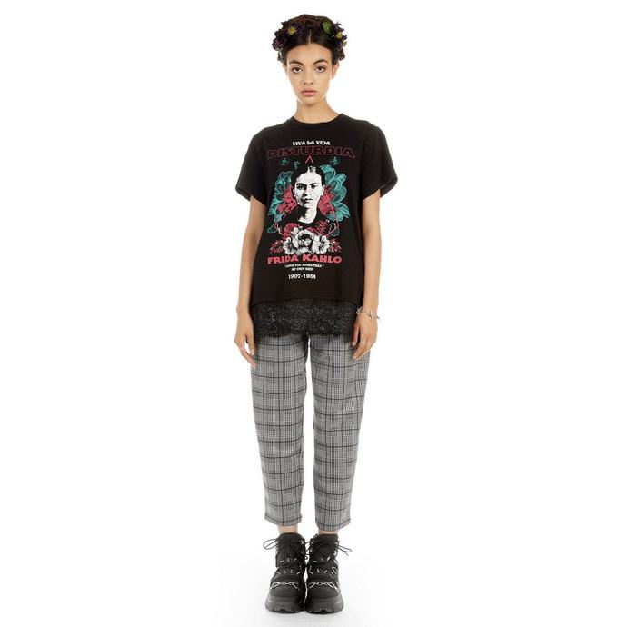 tričko dámské DISTURBIA - Frida Viva La Vida - Lace