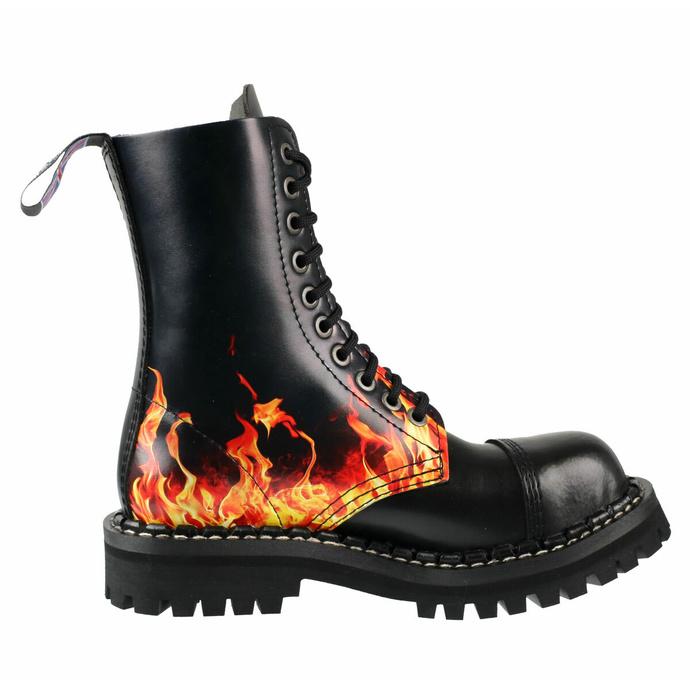 boty STEADY´S - 10 dírkové - Fire