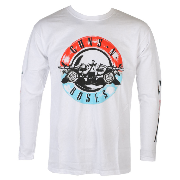 tričko pánské s dlouhým rukávem Guns N' Roses - Motorcross Logo - ROCK OFF