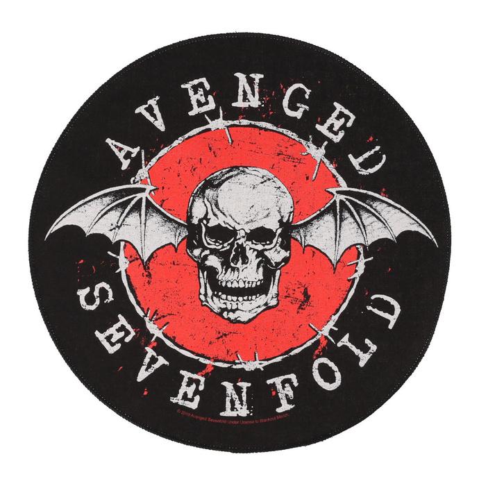 nášivka velká Avenged Sevenfold - Distressed Skull - RAZAMATAZ