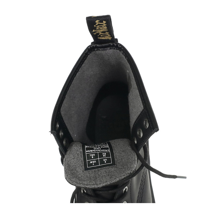 boty zimní DR. MARTENS - 8 dírkové - 1460 Snowplow WP black