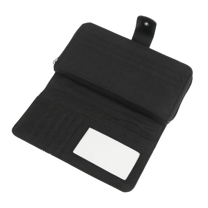 peněženka BLACK HEART - PIN UP SKULL