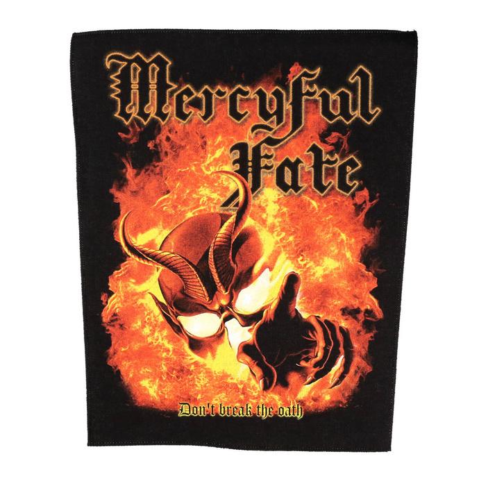 nášivka velká Mercyful Fate - Don't Break The Oath - RAZAMATAZ