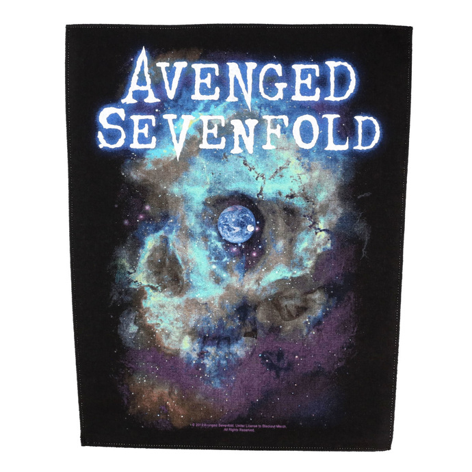 nášivka velká Avenged Sevenfold - Nebula - RAZAMATAZ