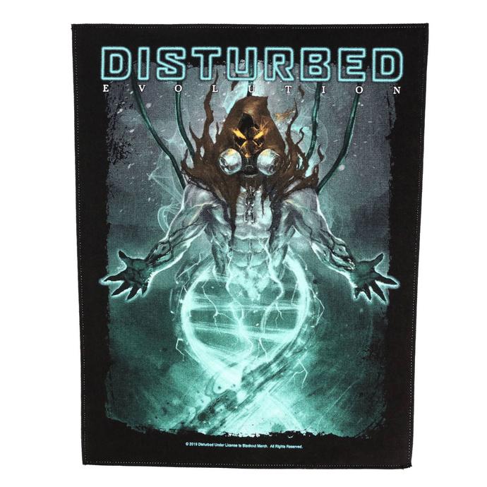 nášivka velká Disturbed - Evolution - RAZAMATAZ