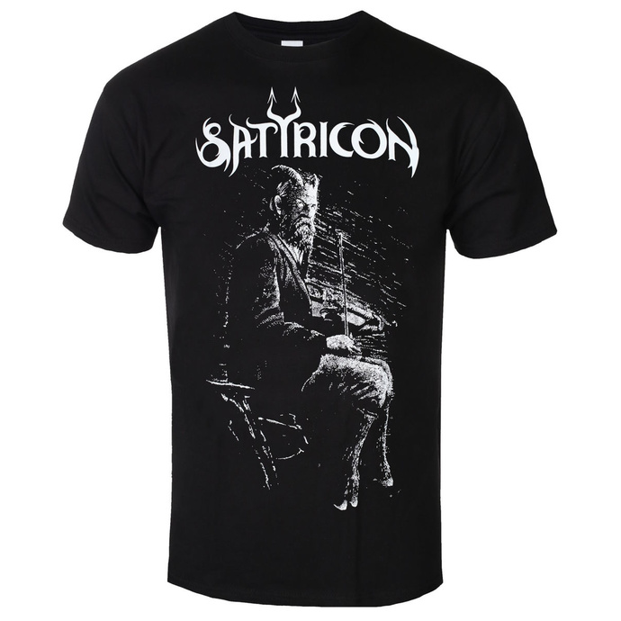 tričko pánské SATYRICON - Fanden - BLACK