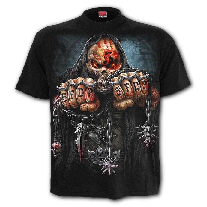 tričko pánské SPIRAL - Five Finger Death Punch - GAME OVER