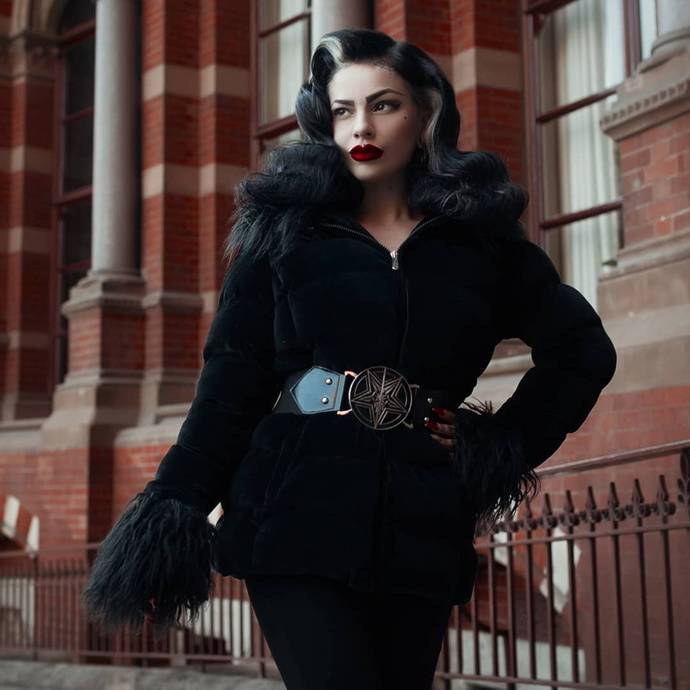 kabát dámský KILLSTAR - Gates Of Hell