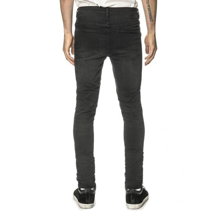 kalhoty pánské (jeans) GLOBE - G.04 Skinny - Beat Down Black