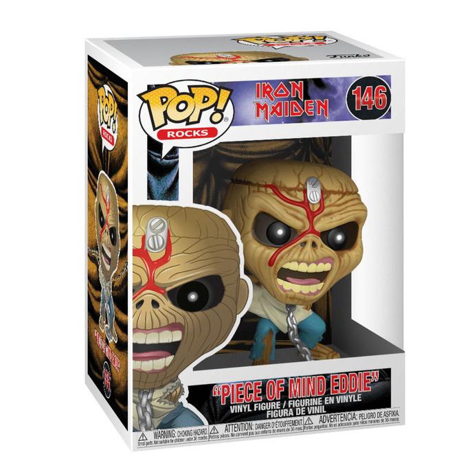 figurka Iron Maiden - POP! - Piece Of Mind - Skeleton Eddie