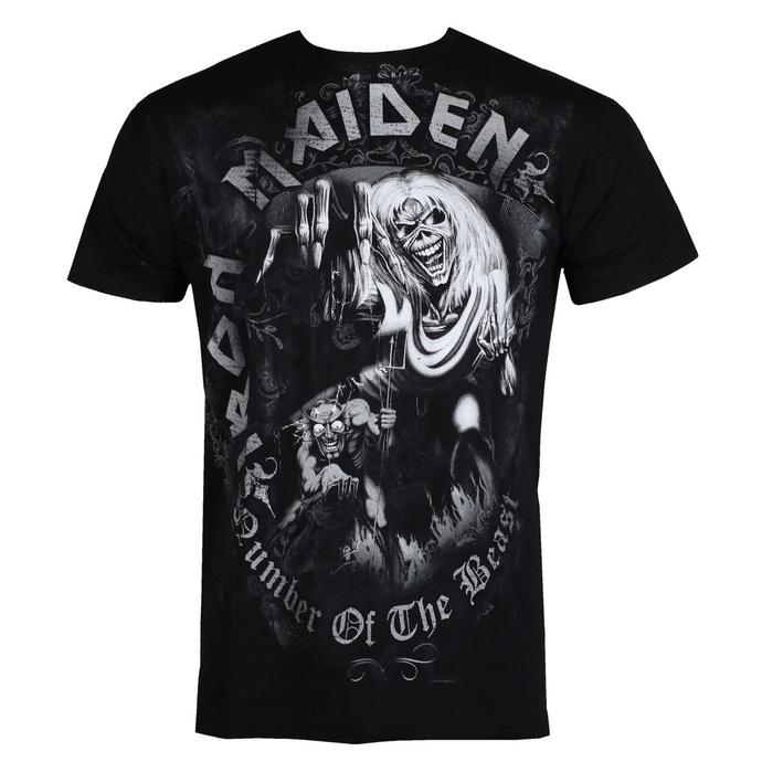 tričko pánské Iron Maiden - Number Of The Beast - ROCK OFF