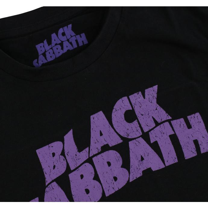 tričko dětské Black Sabbath - Wavy Logo - ROCK OFF