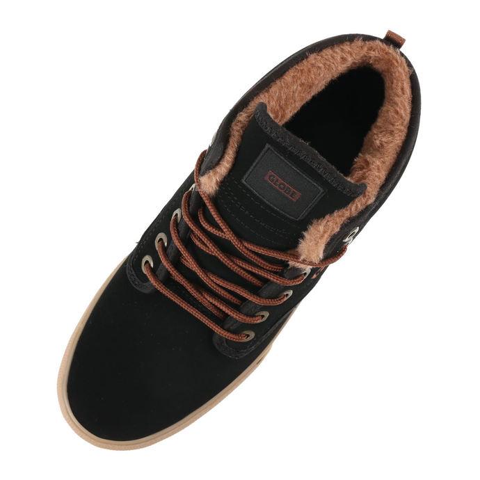 boty pánské zimní GLOBE - Motley Mid - Black/Gum/Fur
