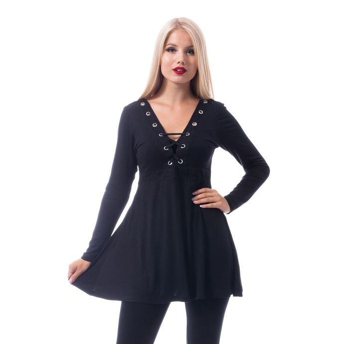 tričko dámské (tunika) Innocent - HAILY - BLACK