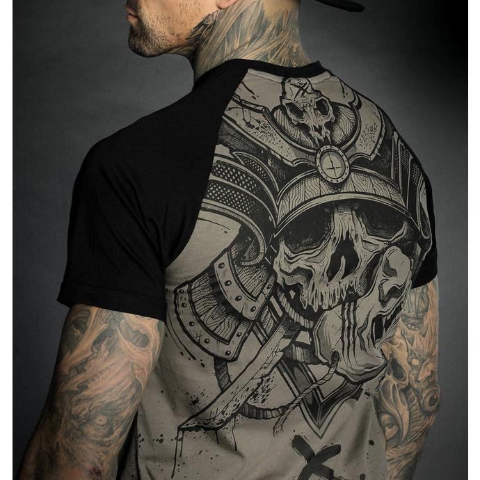 tričko pánské HYRAW - Graphic - RAGLAN SAMOURAI