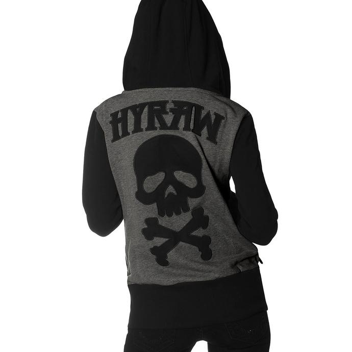 mikina dámská HYRAW - DEATH SHADOW