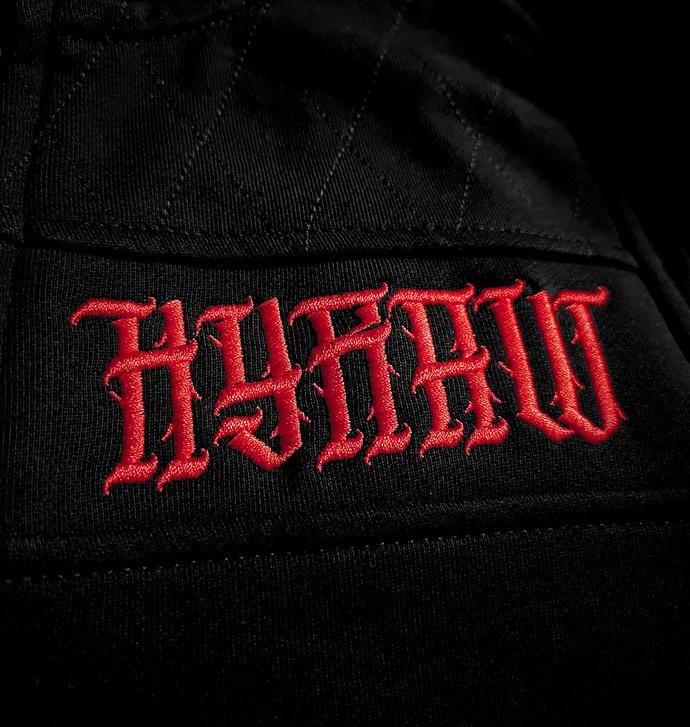 mikina pánská HYRAW - ADDICT RED