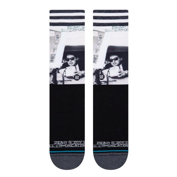ponožky Beastie boys - ILL COMMUNICATIONS - BLACK - STANCE