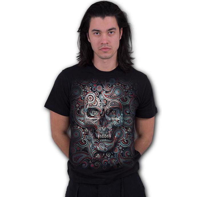tričko pánské SPIRAL - SKULL ILLUSION