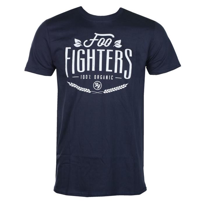 tričko pánské Foo Fighters - NAVY- ROCK OFF