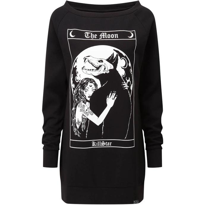 šaty dámské KILLSTAR - Wolfmoon - BLACK